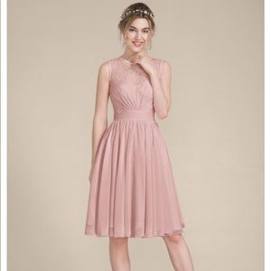 Gorgeous dusty rose dress